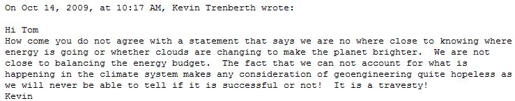 Trenberth quote
