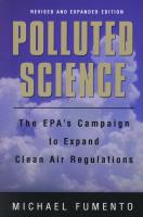 Polluted Science by Michael Fumento